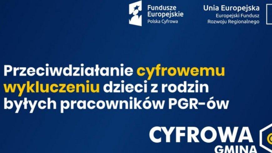 Granty PPGR - Wsparcie dzieci z rodzin pegeerowskich w rozwoju cyfrowym