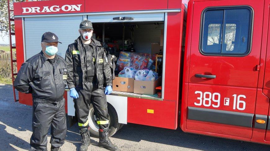 OSP w Konotopie pomaga Emerytom