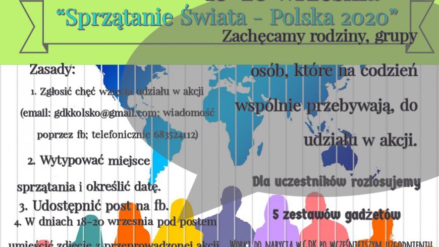 Sprzątanie świata- Polska 2020